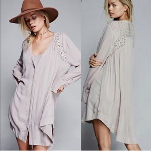 FREE PEOPLE | Courtney's Victorian Shirt Dress